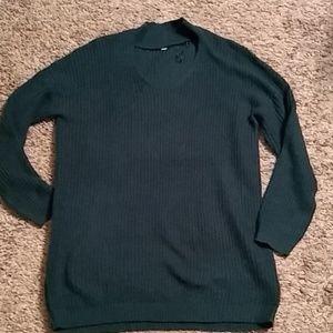 Long Choker sweater
